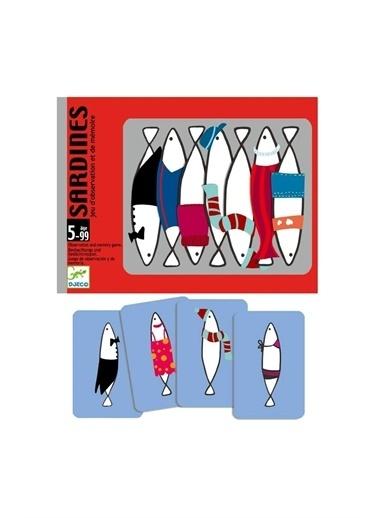 Djeco Djeco Kart Oyunları / Sardines Pembe